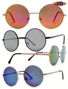 John Lennon Metal Round Sunglasses
