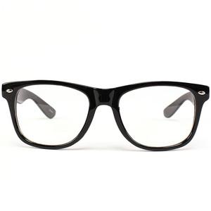 Classic Black Wayfarer Unisex Eye Glasses