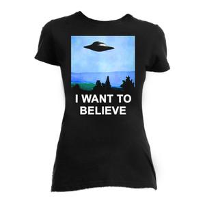 I Want to Believe Women's T-Shirt