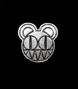 """Radiohead 2"""" Metal Badge Pin"""