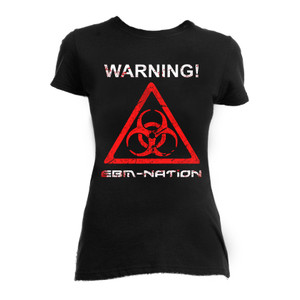 Warning! EBM Nation Blouse T-Shirt
