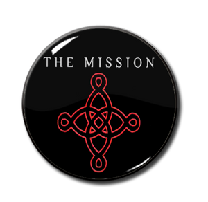 "The Mission - Logo 1"" Pin"