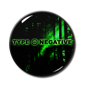 "Type O Negative - Green logo 1"" Pin"