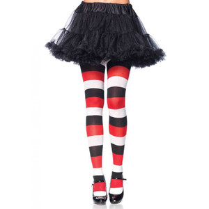 Darling Doll Striped Opaque Tights