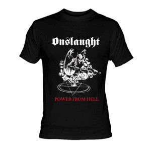 Onslaught - Power from Hell T-Shirt