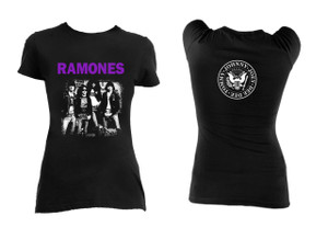 Ramones Band Pic Blouse T-Shirt
