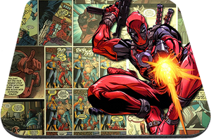 "Deadpool Comic 9x7"" Mousepad"