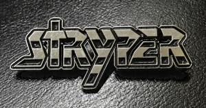 """Stryper 2.25 x 1"""" Metal Badge Pin"""