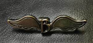 "Blutengel 2 x .5"" Metal Badge Pin"
