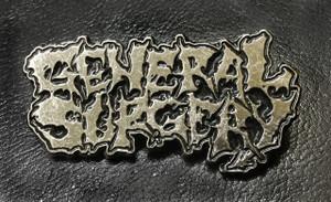 "General Surgery 2.25 x 1"" Metal Badge Pin"