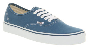 Vans - Authentic Navy Sneakers
