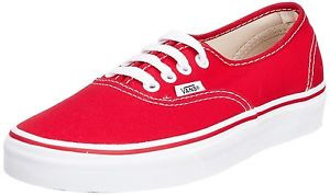 Vans - Authentic Chilli Pepper Red Sneakers