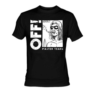 Off! - Wasted Years Black T-Shirt