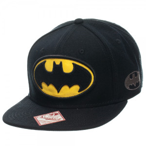 Batman Logo Black Snapback