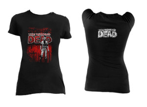 The Walking Dead Comic Cover Girls T-Shirt **LAST ONES IN STOCK** HURRY!!
