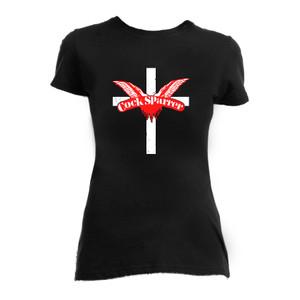 Cock Sparrer Cross Girls T-Shirt