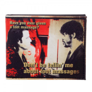 Pulp Fiction Foot Master Bi-Fold Wallet