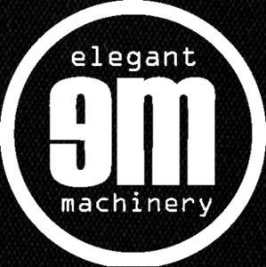 "Elegant Machinery Logo 5x4"" Printed Patch"