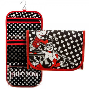 DC Comics Harley Quinn Cosmetic Bag