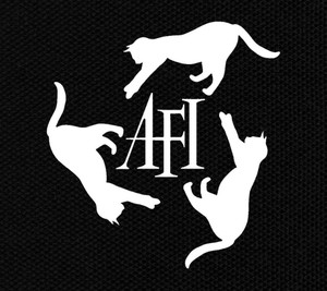"AFI Cats 5.75x6"" Printed Patch"