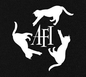 "A.F.I. Cats 5.75x6"" Printed Patch"