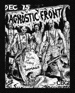 "Agnostic Front Flyer 6x5"" Printed Patch"