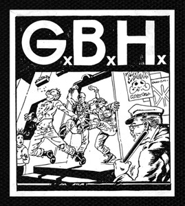 "G.B.H. - Bar 4.5x5.5"" Printed Patch"