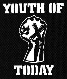 "Youth of Today 4.5x4.75"" Printed Patch"