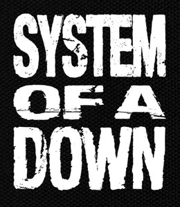 "System of a Down 5x5.5"" Printed Patch"