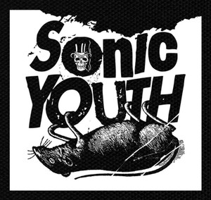 "Sonic Youth 5.5x5.5"" Printed Patch"
