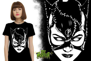 Dr. Horror - Catwoman Girls Top