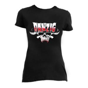 Danzig Skull Blouse T-Shirt