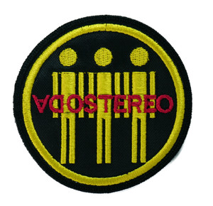 """Soda Stereo Men 3x3"""" Embroidered Patch"""