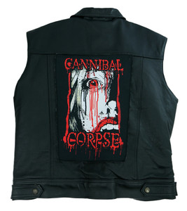 "Cannibal Corpse Bloody 13.5"" x 10.5"" Color Backpatch"