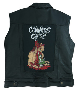 "Cannabis Corpse 13.5"" x 10.5"" Color Backpatch"