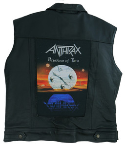"Anthrax Persistence of Time 13.5"" x 10.5"" Color Backpatch"