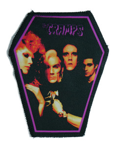 "The Cramps 6.75x3.5"" Coffin Patch"