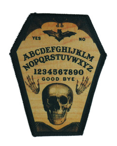 "Go Rocker - Ouija 6.75x3.5"" Coffin Patch"