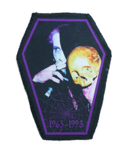 "Rozz Williams 6.75x3.5"" Coffin Patch"