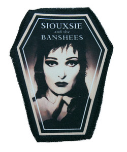 "Siouxsie and the Banshees 6.75x3.5"" Coffin Patch"