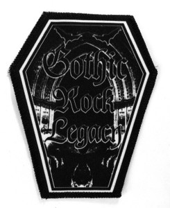 "Goth Rock Legacy 6.75x3.5"" Coffin Patch"