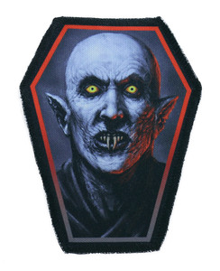 "Go Rocker - Nosferatu 6.75x3.5"" Coffin Patch"
