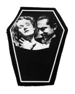 "Dracula 6.75x3.5"" Coffin Patch"