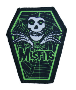 """Misfits in Green 6.75x3.5"""" Coffin Patch"""