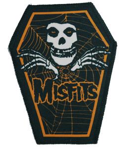 "Misfits in Orange 6.75x3.5"" Coffin Patch"