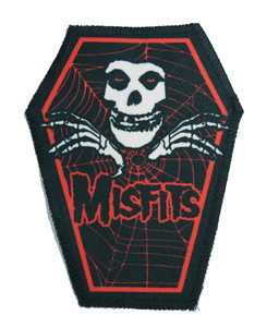 """Misfits in Red 6.75x3.5"""" Coffin Patch"""