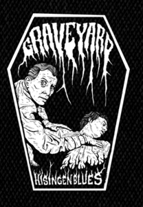"Graveyard Logo 6x4"" Printed Patch"