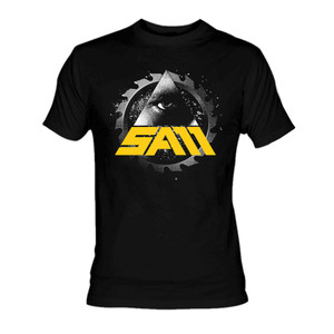 Sam - Saw logo T-Shirt **Last in Stock