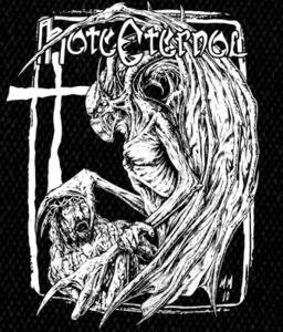 "Hate Eternal Logo 5x6"" Printed Patch"