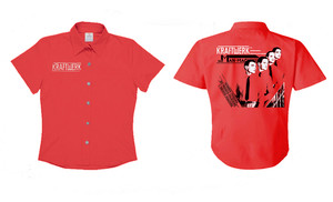 Kraftwerk Man Machine Women's Workshirt